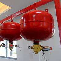 电磁型悬挂式七氟丙烷灭火系统装