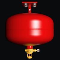 感温型悬挂式七氟丙烷灭火装置